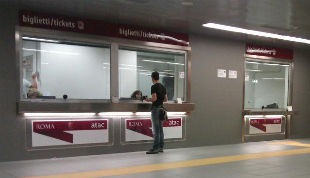 Guichet Metro Rome