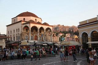 Place Monastiraki Athenes