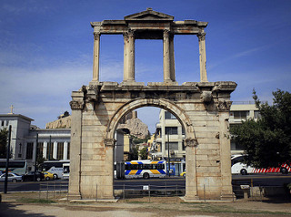 Porte d'Hadrien Athènes