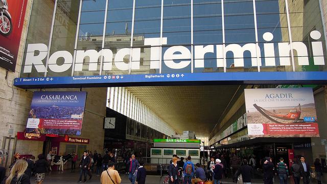 Station Metro Termini à Rome