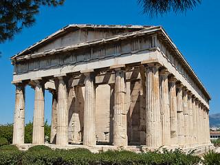 Temple Héphaïstéion Athènes