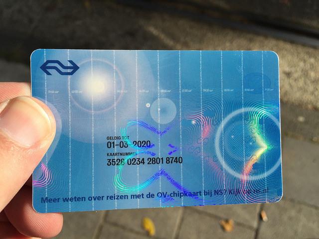 Carte Ov-Chipkaart
