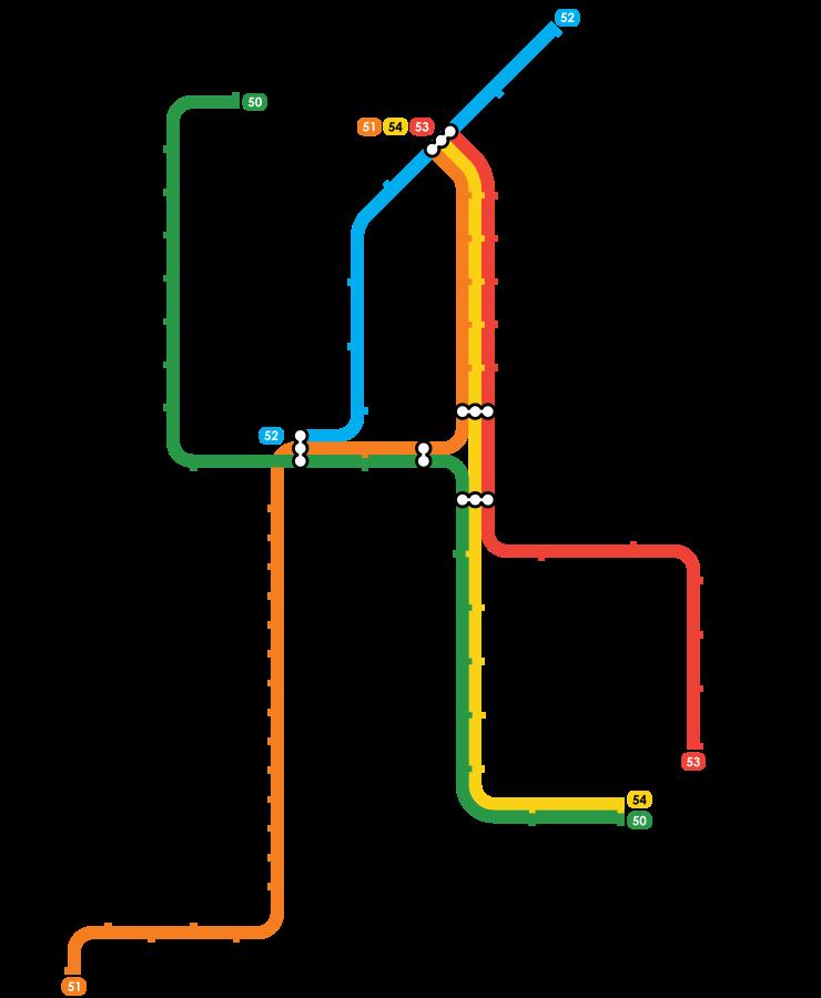 Plan Metro Amsterdam