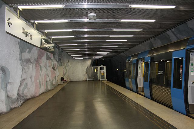 Station Mörby Centrum