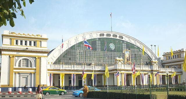 Hua Lamphong, la principale gare de Bangkok