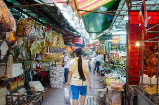 Marché Chinois Bangkok