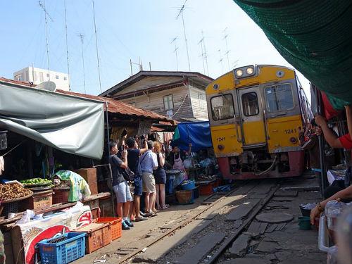 Marché Mae Klong Bangkok