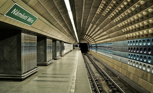 Metro Prague Republique Tchèque