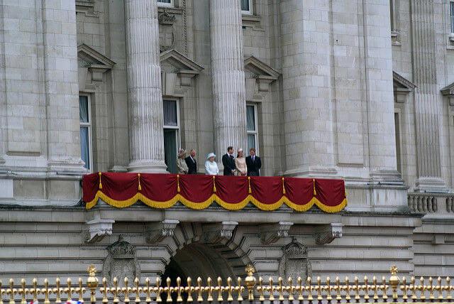 Balcon Buckingham Palace