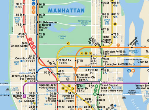 Plan Metro New York City