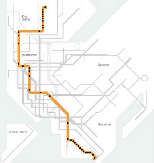 Plan Métro New York Pdf à Imprimer Interactif Carte