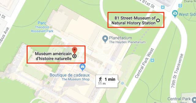 plan-metro-new-york-musee-histoire-naturelle