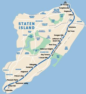 Plan Metro Staten Island New York