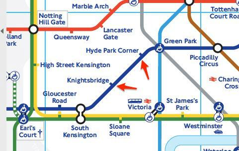 plan station metro londres