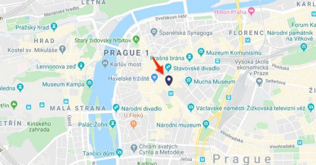 Retrait Prague Card Place Venceslas