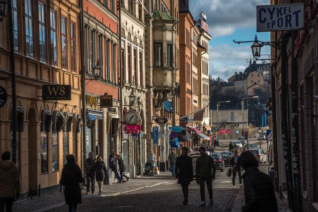 se deplacer a pied a stockholm