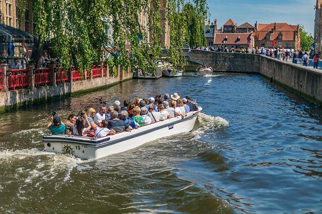 Balade en Bateau sur les canaux de Bruges