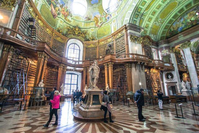 Bibliothèque Nationale Autriche