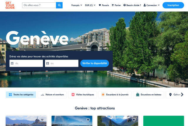 Site billets Genève