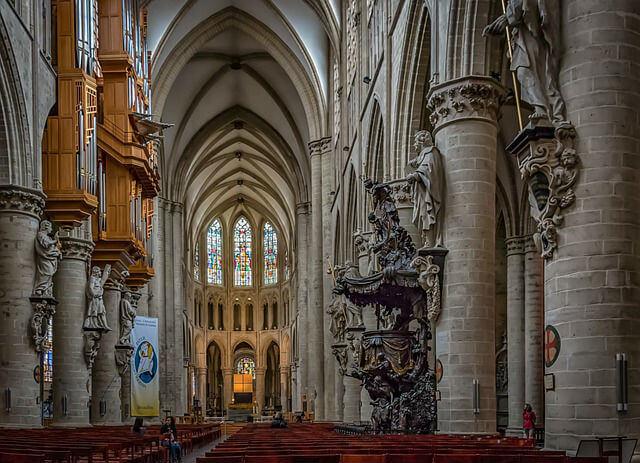Cathédrale Saints Michel et Gudule Bruxelles