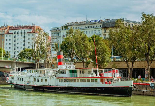 Croisière sur le Danube à Vienne