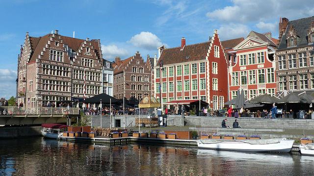 Ville de Gand Belgique