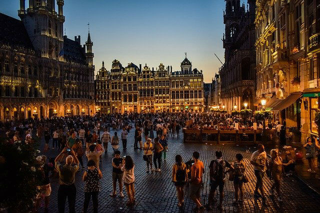 Grand Place Bruxelles la nuit
