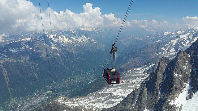 Le célèbre Mont Blanc