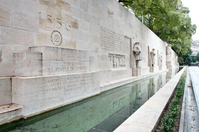 Mur réformateurs Genève