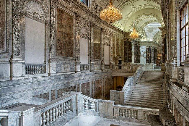 Intérieur Palais Hofburg Vienne