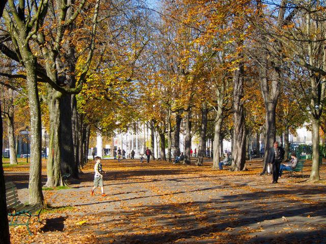 Parc des Bastions Genève