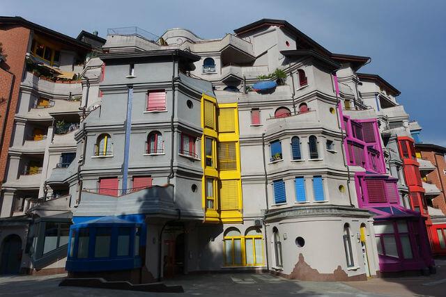 Quartier schtroumpf Genève