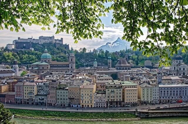 Excursion à Salzbourg depuis Vienne