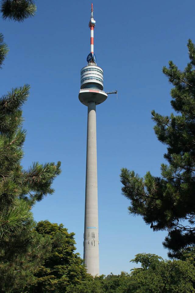 La Tour du Danube à Vienne