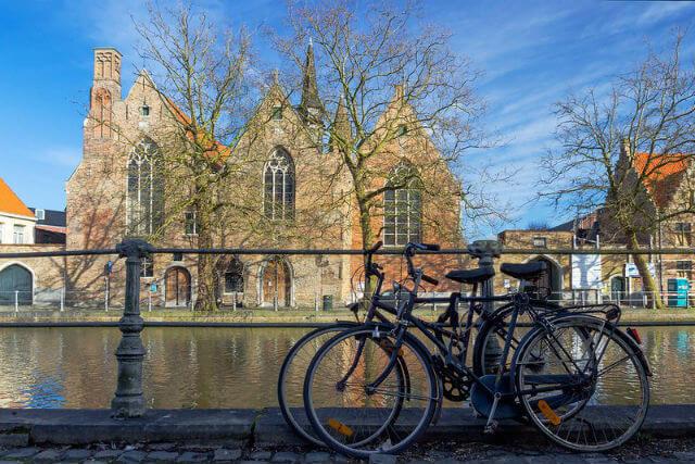 Faire du Vélo à Bruges