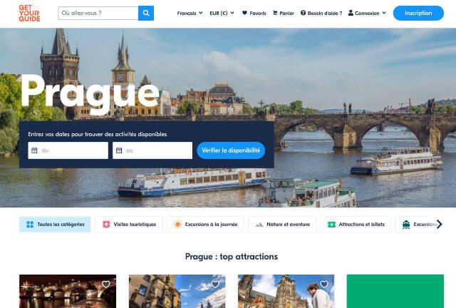 Billets Visite Prague
