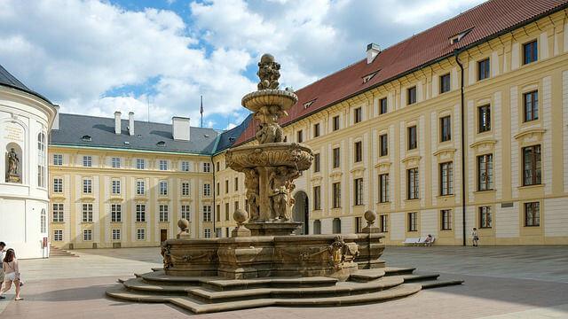 Château Prague intérieur