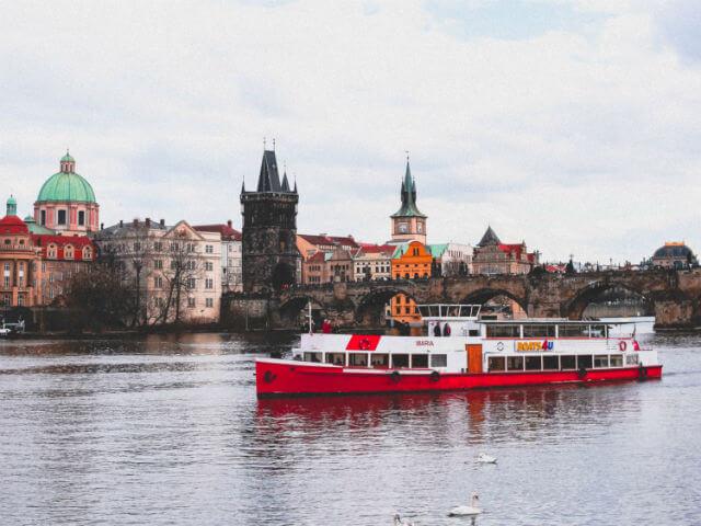 Croisiere Vltava Prague