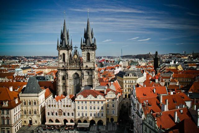 Eglise Notre Dame Tyn de Prague