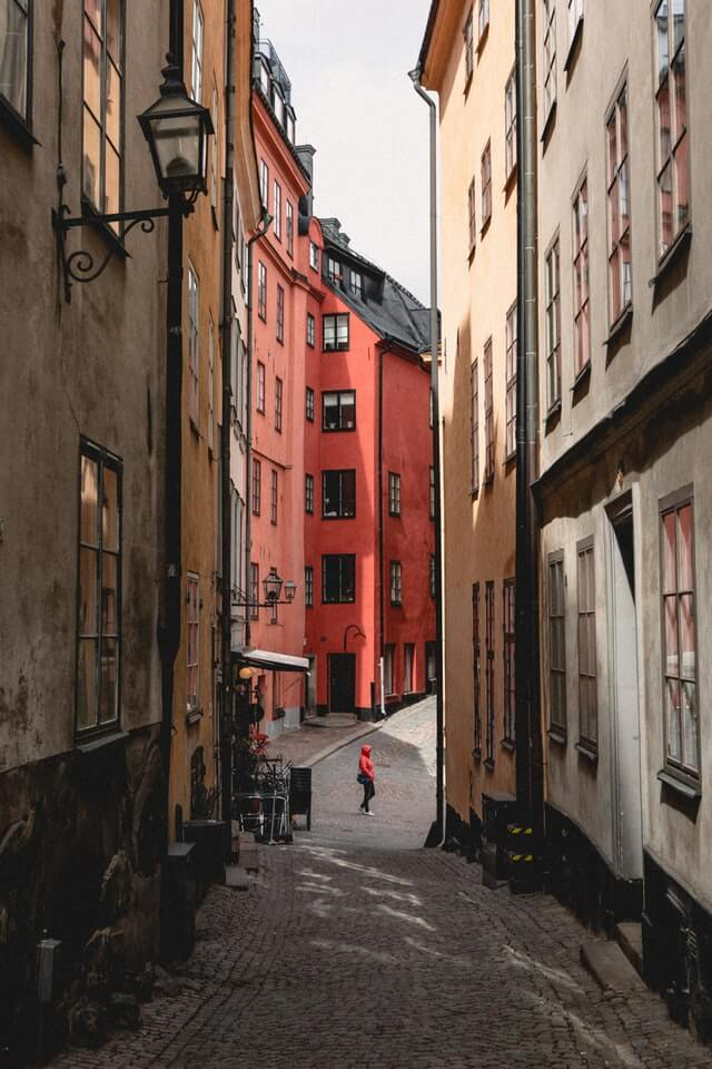 Photo rue Gamla Stan