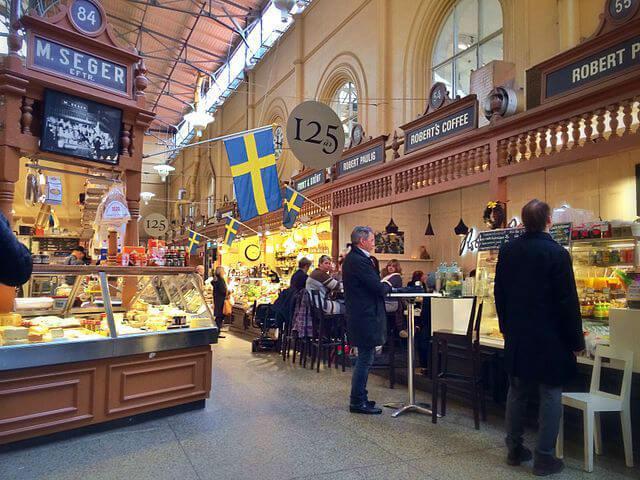 Marché Ostermalm Stockholm