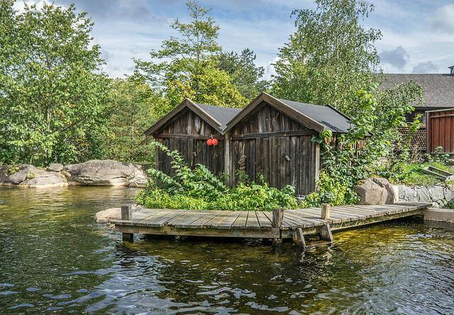 Musee plein air Skansen Stockholm