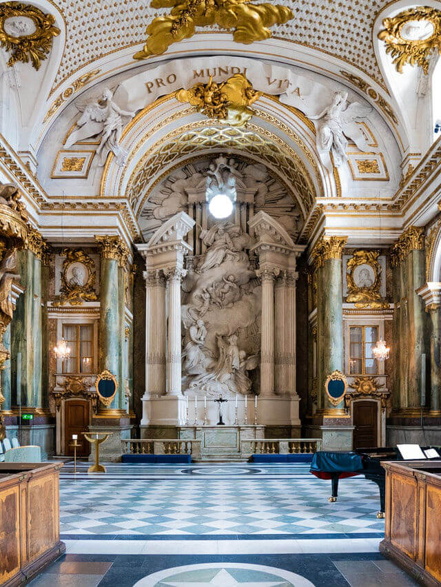 Chapelle Palais Royal Stockholm