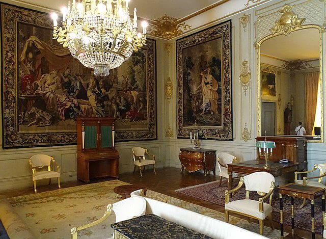 Interieur Palais Royal Stockholm