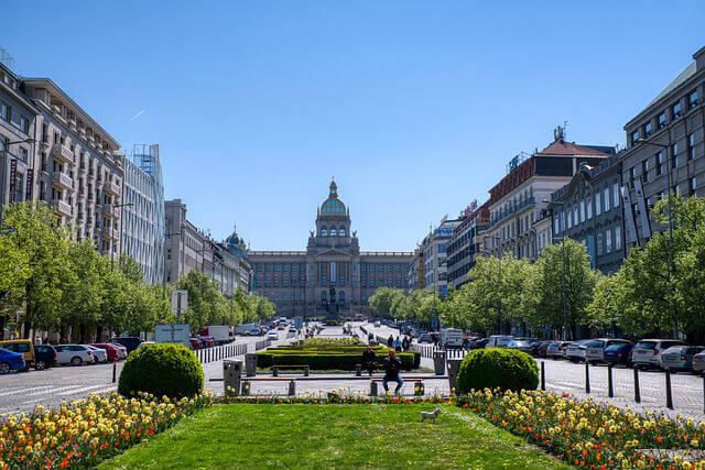 La Place Venceslas Prague