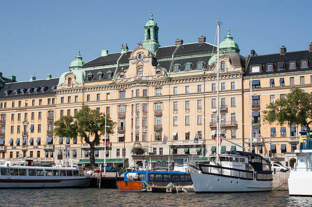 Strandvage Stockholm