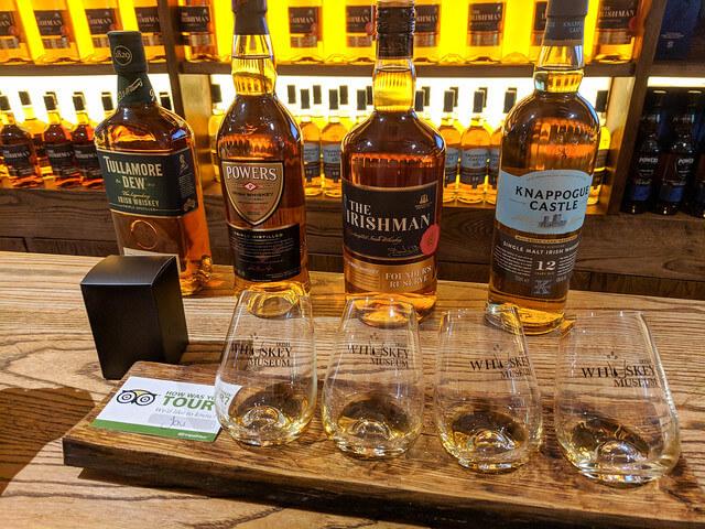 Irish Whiskey Museum Dublin